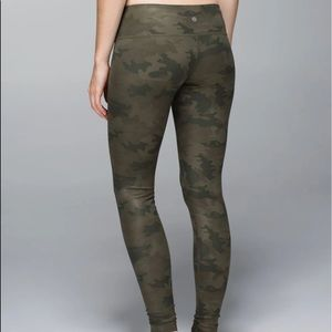 Lululemon camouflage full length